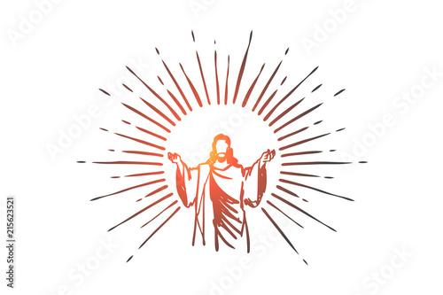Slika na platnu God, Jesus christ, grace, good, ascension concept