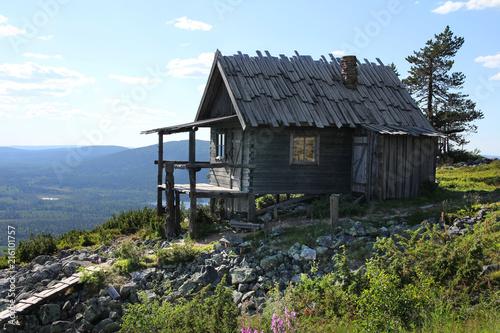 Santa's cottage in summer