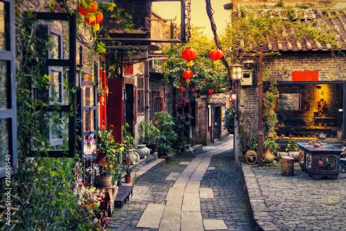 Fototapeta Ancient Nanfeng Kiln Cultural and Creative Zone, Shiwan Town, Foshan city, Guangdong, China