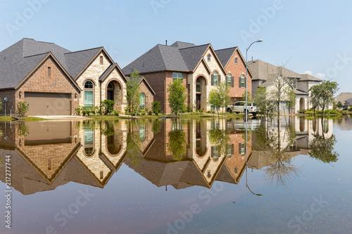 Obraz na płótnie Life after devastating floods