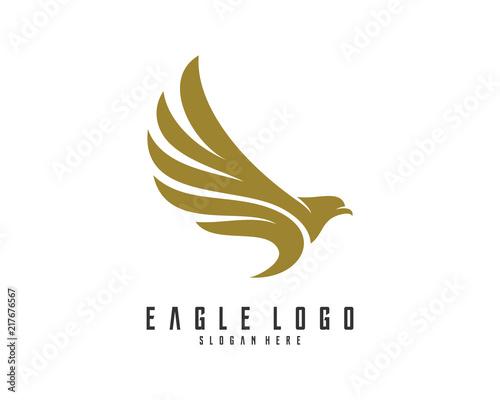 Carta da parati Eagle logo vector