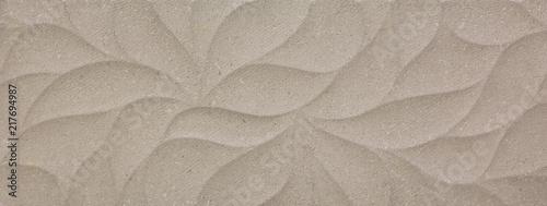 Fotografia ceramic tile, abstract mosaic ornamental geometric pattern