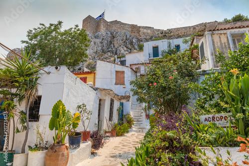 Quartier d'Anafiotika à Athènes