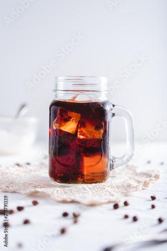 Cold brew coffee Fototapete