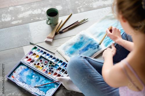 art therapy Fototapet