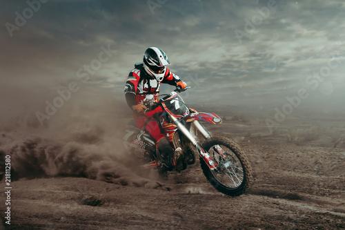 Wallpaper Mural Motocross