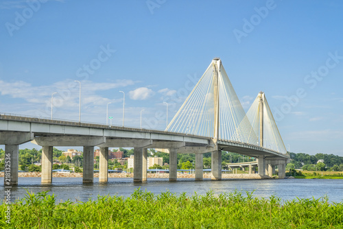 Fotografia Clark Btridge over Mississippi River