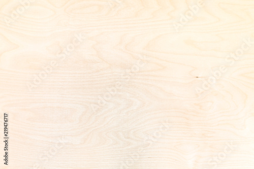 Photo wooden background from natural birch plywood