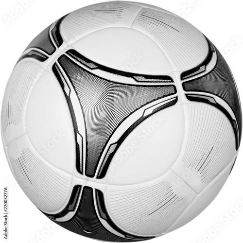 Photo Soccer Ball, Isolated