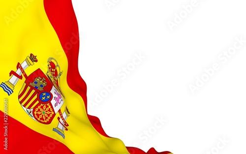 Wallpaper Mural The flag of Spain
