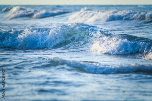 Fototapeta premium tło, morze, fala