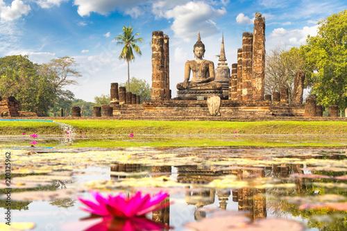 Canvas Print Sukhothai historical park