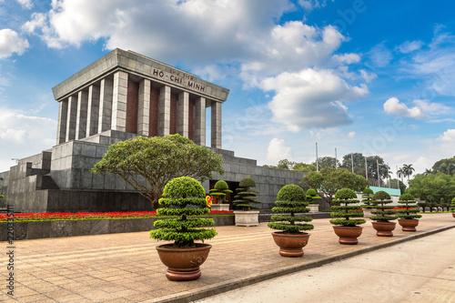 Valokuva Ho Chi Minh Mausoleum in Hanoi, Vietnam