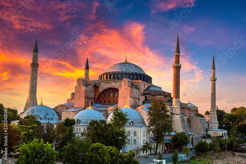 Wallpaper Mural Ayasofya Museum (Hagia Sophia) in Istanbul