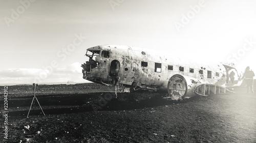 фотография The abandoned DC-3 Airplane on Solheimasandur beach