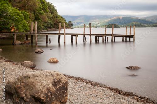 Tableau sur Toile Derwent water, Lake District, England