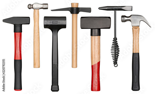 Photo Various hammers