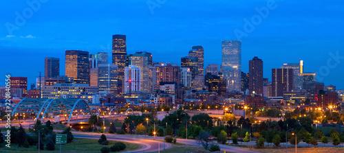 Fotografia Panorama downtown Denver