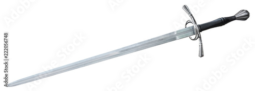 Photo Old sword medieval weapon blade knight equipment