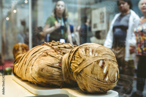Canvastavla Ancient egyptian mummy