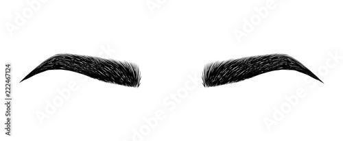 Slika na platnu eyebrow perfectly shaped