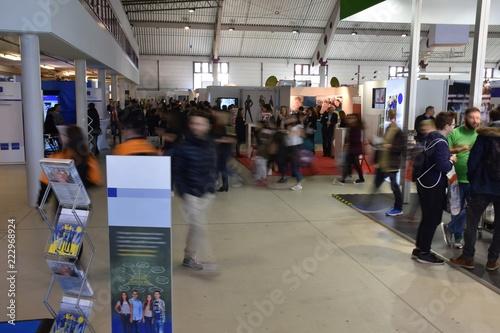 Fotografia Fachmesse mit verschiedenen Ständen