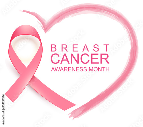 Photo National breast cancer awareness month