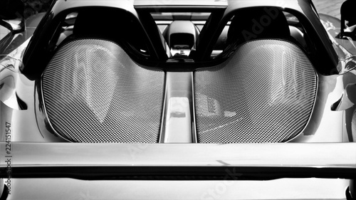 Canvas Print Porsche, sports car