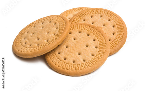 Fotografia biscuits isolated