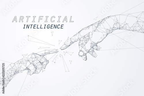 Carta da parati The Creation of AI