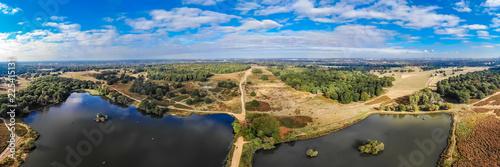 Carta da parati Aerial view of Richmond Park, London