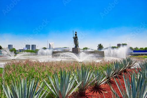 Photo Landmark Minerva monument in Guadalajara historic center