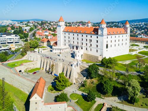 Photo Bratislava aerial panoramic view
