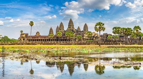 Photo Angkor Wat temple in Cambodia