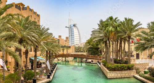 Canvas Print Burj Al arab hotel in Dubai