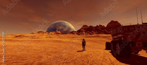 Photo Extremely detailed and realistic high resolution 3d illustration of human astron