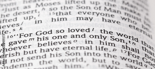 God So Loved the Word That He Gave His One and Only Son