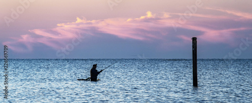 Slika na platnu Wade Fishing #3