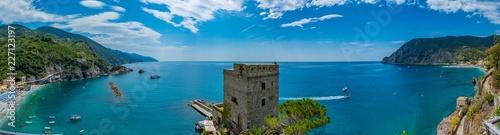 Stampa su Tela panorama of Monterosso al mare