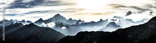 Obraz na plátne Schweizer Berge
