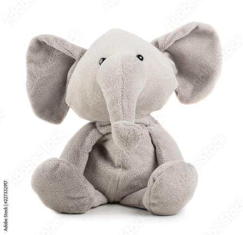 Fototapeta premium Szary słoń zabawka