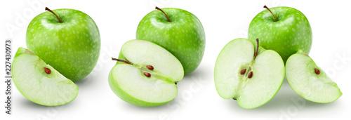 Fotografija apple fruits Clipping Path