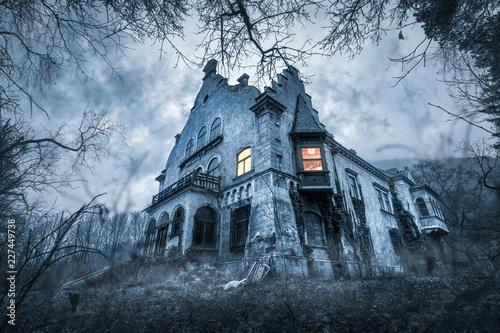 Old haunted abandoned house
