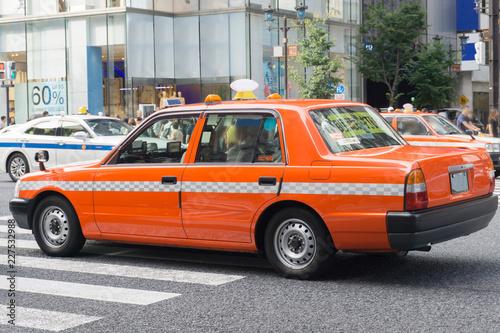 Canvas Print タクシー 東京