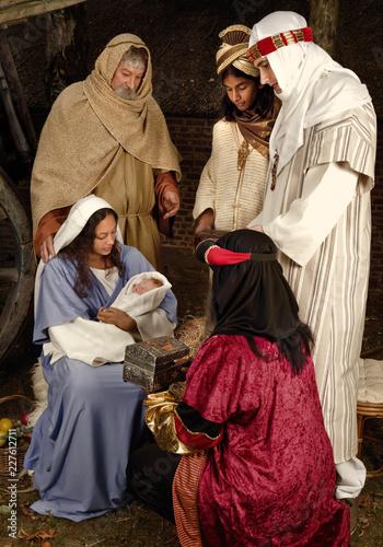 Cuadros en Lienzo Christmas wisemen
