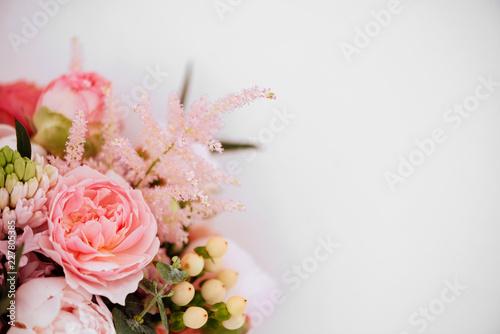 Vászonkép Beautiful blossoming flowers.