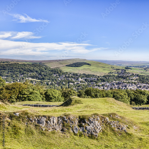 Wallpaper Mural Buxton from Grin Low and Buxton Country Park, Derbyshire