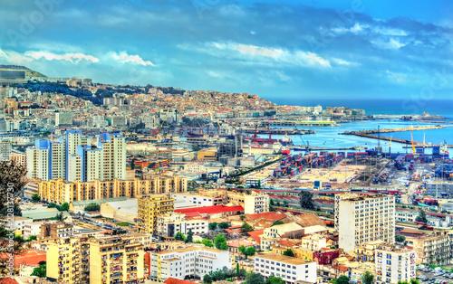 View of the city centre of Algiers in Algeria