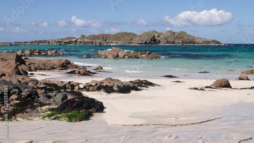 Fotografia, Obraz Beautiful beach, Iona, Scotland