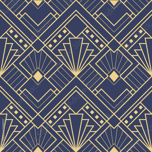 Abstract art deco seamless pattern 03